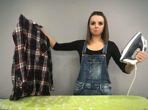 Jak wyprasować koszule bez pomocy żelazka ?